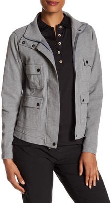 Peter Millar Melange Fleece Pocket Jacket $159.50 thestylecure.com
