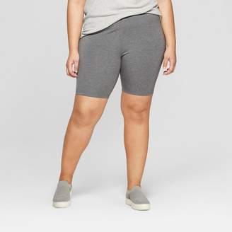 Ava & Viv Women's Plus Size Bike Shorts