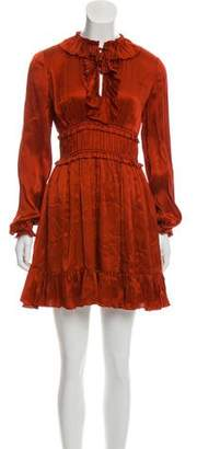 Ulla Johnson Silk Ruffled Dress