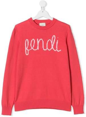 Fendi TEEN logo sweater