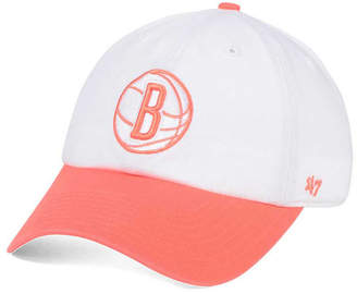 '47 Brooklyn Nets Pastel Rush Clean Up Cap