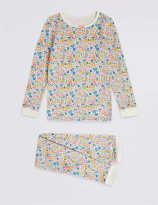 Marks and Spencer Floral Print Thermal Set (18 Months - 16 Years)