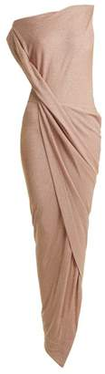 Vivienne Westwood Anglomania - Vian Off The Shoulder Draped Dress - Womens - Light Pink
