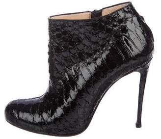 huge selection of 53c81 a118f denmark christian louboutin belle 100 ankle boots york 6d4f7 ...
