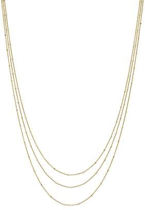 "Bloomingdale's 14K Yellow Gold Multi Strand Satellite Chain Necklace, 18"" - 100% Exclusive"