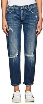 Current/Elliott Women's The Fling Distressed Boyfriend Jeans