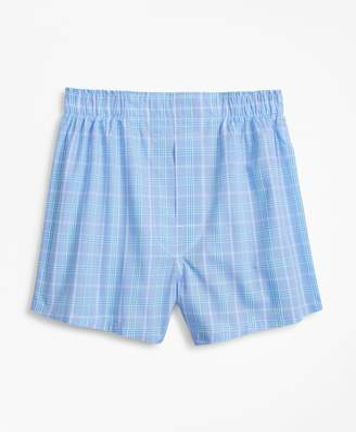 Brooks Brothers Plaid Boxers