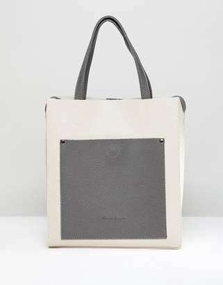 Claudia Canova Unlined Single Pocket Tote Bag