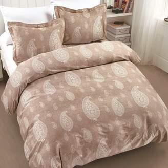 California Design Den Dunes 3-Piece Cotton Bedding Comforter, King Fresh Taupe Bedding Comforter Set