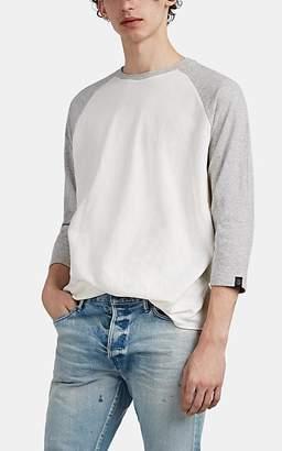 Rag & Bone Men's Rigby Double-Knit Cotton Baseball T-Shirt - Ivorybone