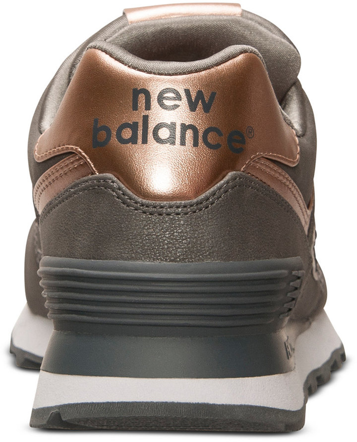 New Balance Women's 574 Precious Metals Casual Sneakers from Finish Line 7