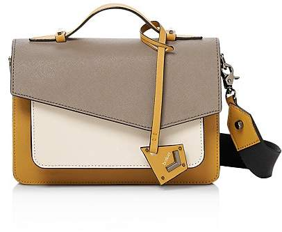 Botkier Cobble Hill Color Block Leather Crossbody