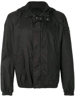 Prada hooded wind jacket