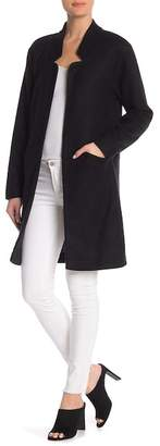 14th & Union Cocoon Open Front Coat (Regular & Petite)
