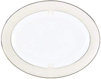 Lenox Dinnerware, Opal Innocence Scroll Large Oval Platter