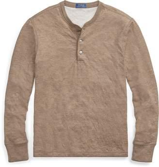 Ralph Lauren Cotton-Blend Henley Shirt