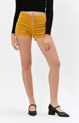 Pacsun Zip Corduroy Shorts