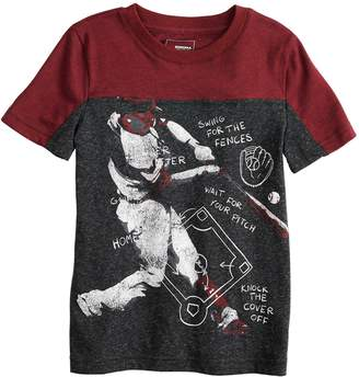 Sonoma Goods For Life Boys 4-12 SONOMA Goods for Life Sporty Pieced Graphic Tee