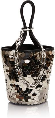 Alexander Wang Mini Roxy Sequin Bucket Bag