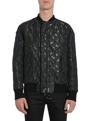 Tom Rebl Bomber Jacket With Intarsia