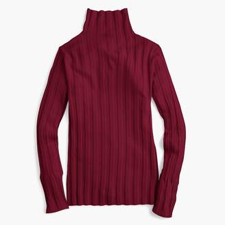 J.Crew 365 stretch turtleneck ribbed sweater