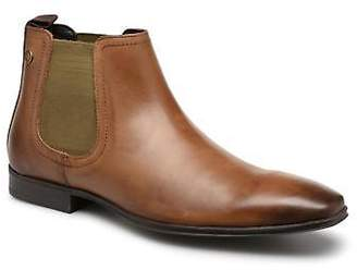 Base London Men's WEAVER Ankle Boots in Brown