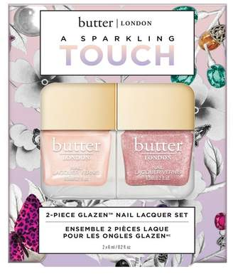 butter LONDON A Sparkling Touch 2-Piece Glazen Nail Lacquer