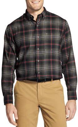 Izod Classic-Fit Plaid Flannel Button-Down Shirt