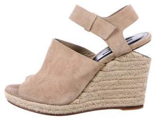 Alexander Wang Suede Wedge Sandals w/ Tags