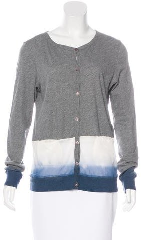 Clu Clu Dip-Dye Button-Up Cardigan