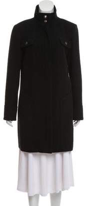 Chanel Wool Knee-Length Coat