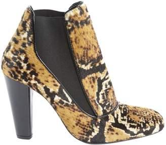 af5e6e1d4566 Tara Jarmon Multicolour Pony-style calfskin Heels