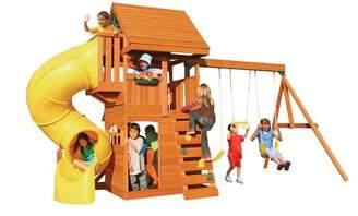 Kid Kraft Grandview Deluxe Wooden Swing Set