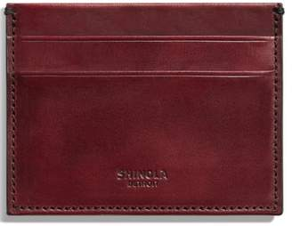 Shinola Harness Leather Card Case