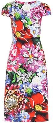 Mary Katrantzou Osmond floral-printed crêpe dress