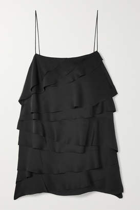 Jason Wu GREY - Tiered Satin Camisole - Black