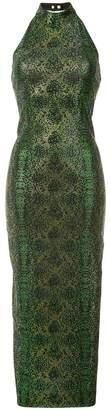 Balmain ornamented knit dress