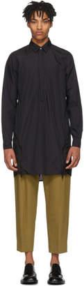 Jil Sander Black Techno Nylon Shirt