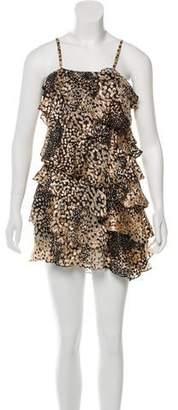 Rachel Zoe Ruffled Sleeveless Dress