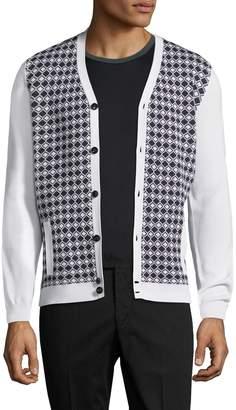 Engineered For Motion Men's Diamond V-Neck Sweater