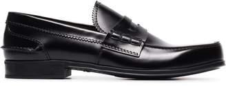 Prada classic leather loafers
