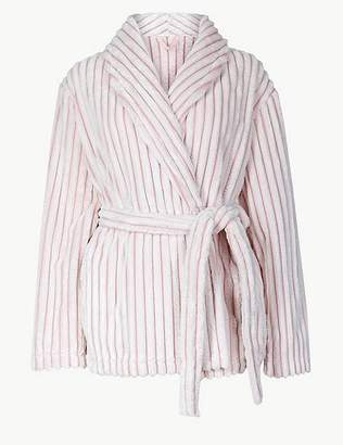 Marks and Spencer Supersoft Textured Short Dressing Gown