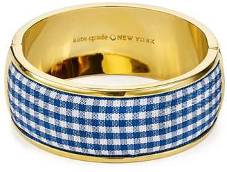 Kate Spade Striped Bangle Bracelet