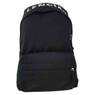 Balenciaga Wheel Black Cloth Backpacks
