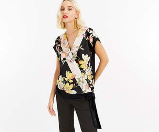 Oasis SCARF WOVEN TOP