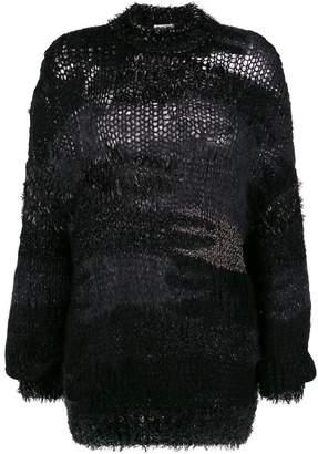 Saint Laurent loose knit jumper