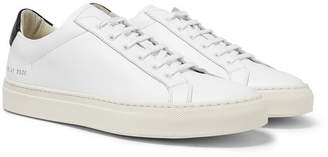 Common Projects Achilles Retro Leather Sneakers - Men - White