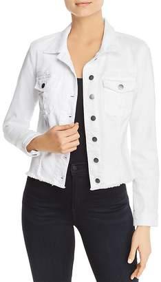 KUT from the Kloth Kara Frayed-Hem Denim Jacket