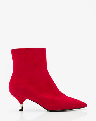Le Château Italian-Made Suede Ankle Boot