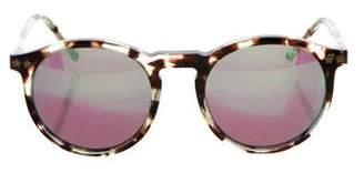 Wildfox Couture Tortoiseshell Mirrored Sunglasses